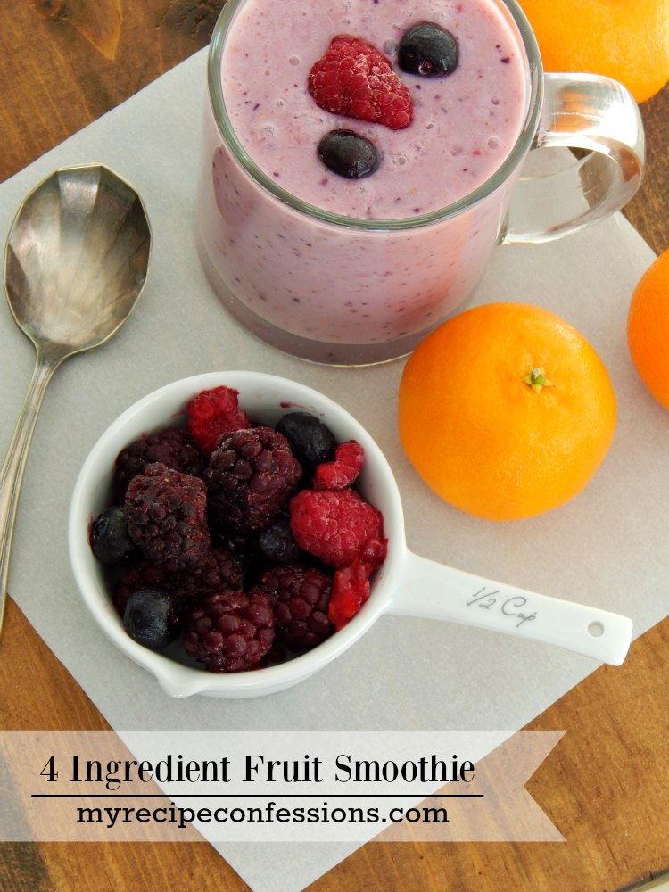 healthy frozen fruit smoothie recipe is eating just fruit healthy