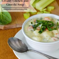 Creamy Chicken and Gnocchi Soup