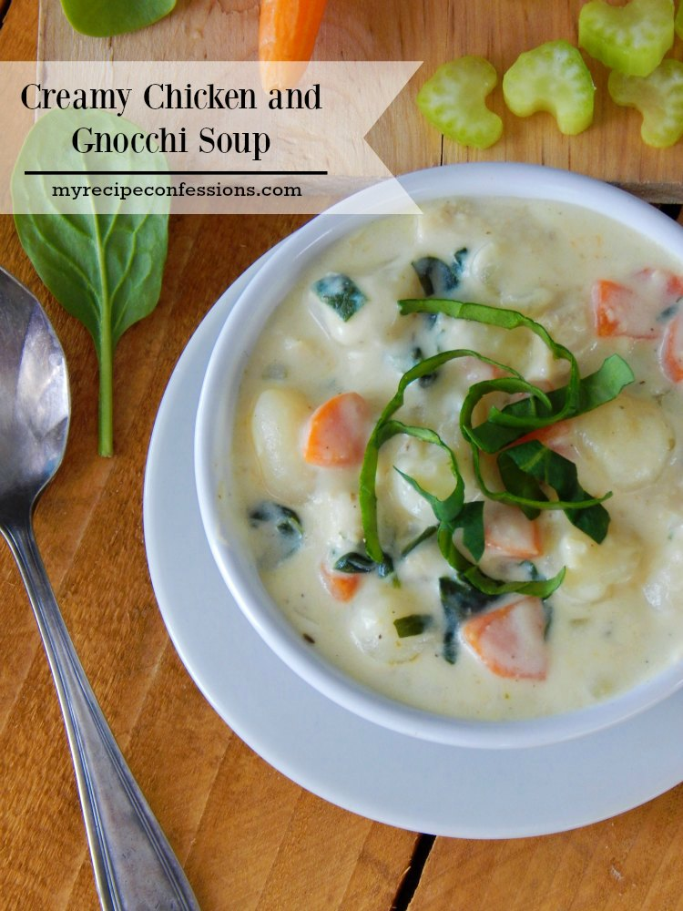 Creamy Chicken And Gnocchi Soup My Recipe Confessions