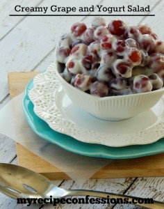 Creamy-Grape-and-Yogurt-Salad