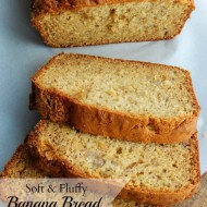 Soft and Fluffy Banana Bread