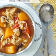 Butternut Squash and Chicken Stew