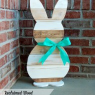 Reclaimed Wood Easter Bunny