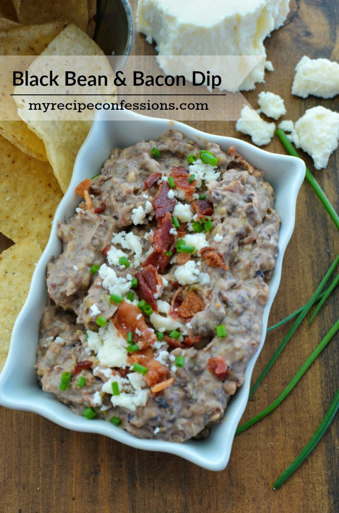Bean And Bacon Fiesta Dip Recipe — Dishmaps