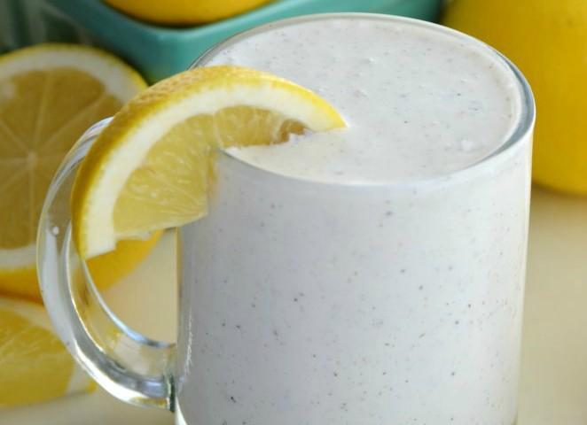 Frosted Coconut Lemonade