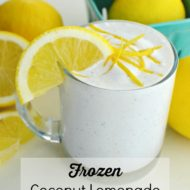 Frosted Coconut Lemonade