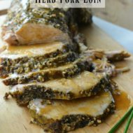 Crock Pot Herb Pork Loin