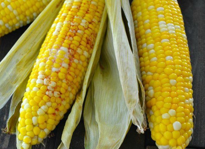 Easy Roasted Corn on the Cob