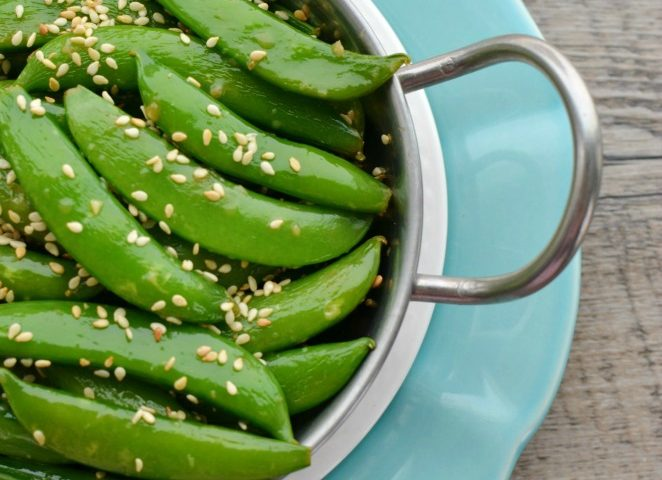 Stir-Fried Sugar Snap Peas