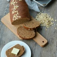 Honey Wheat Molasses Bread