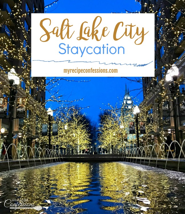 Salt Lake City Staycation is a list fun and affordable ideas for food and entertainment in Salt Lake City. These ideas are great for a couples getaway, a single friends hangout, or a fun and relaxing staycation with the kids.