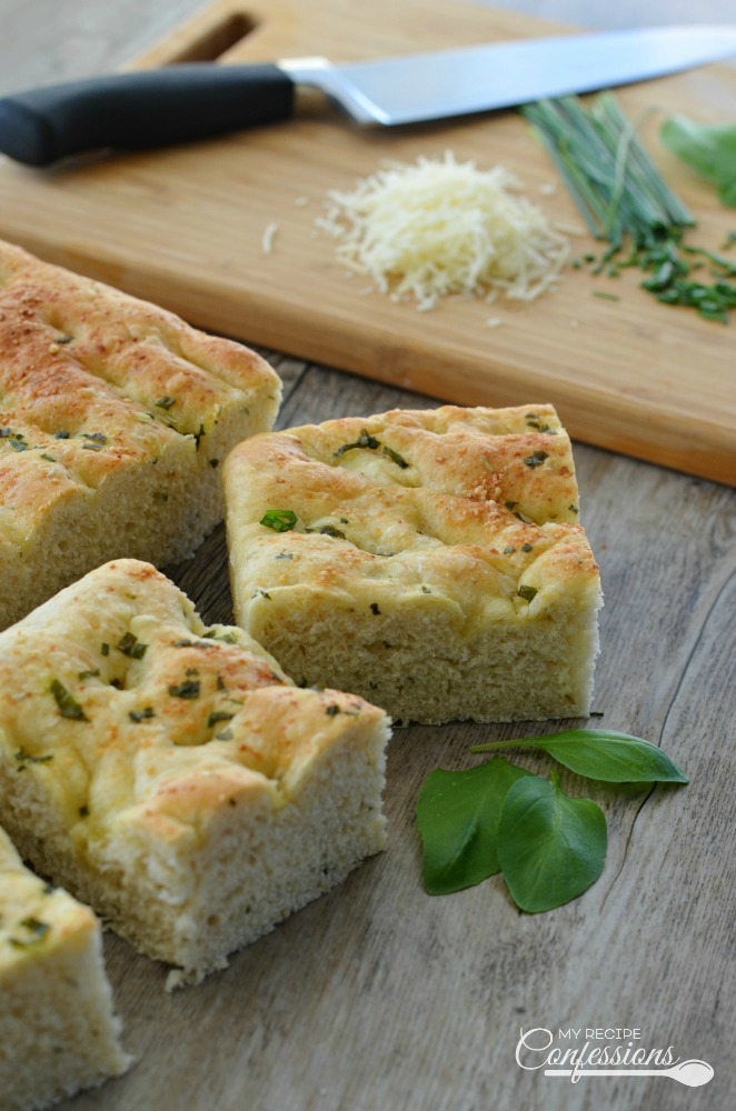 Easy Italian Focaccia Bread is the only focaccia bread recipe you need! Rosemary, basil, and Parmesan cheese are only a few of the delicious ingredients in this recipe. Sandwiches made with this focaccia bread are absolutely amazing!