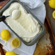 No Churn Lemon Ice Cream