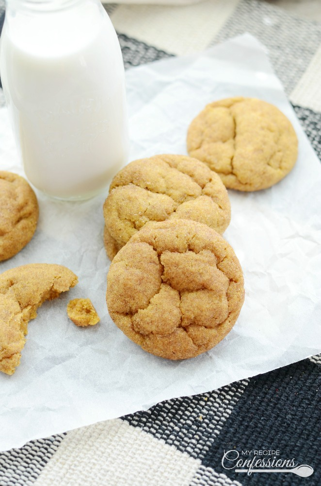 Brown Butter Pumpkin Snickerdoodles will make your taste buds sing! These soft and chewy cookies are easy to make and always a huge hit!